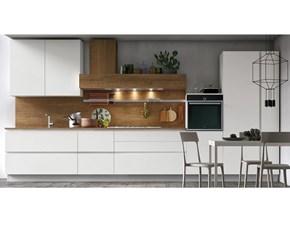 Cucina bianca moderna lineare Infinity Stosa cucine