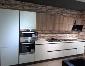 Cucina bianca moderna lineare Marilin Aran cucine