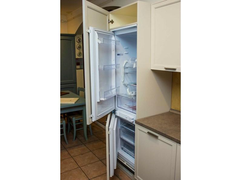 Cucina bianca moderna lineare melograno le fablier scontata - Cucina bianca moderna lineare ...
