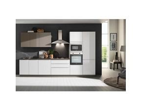 Cucina bianca moderna lineare Mia 360 Net cucine in offerta