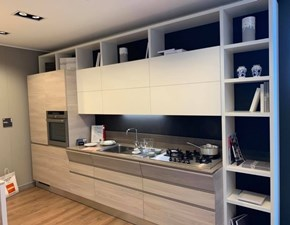 Cucina bianca moderna lineare Motus Scavolini in Offerta Outlet