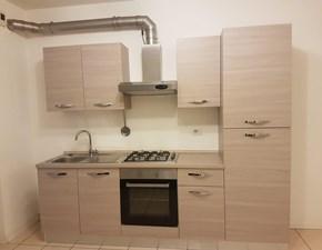 Cucina bianca moderna lineare Plana Artigianale