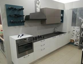 Cucina bianca moderna lineare Sunny Berloni cucine in Offerta Outlet