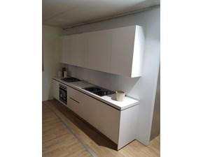 Cucina bianca moderna lineare System stilo lineare bianco Gm cucine in Offerta Outlet