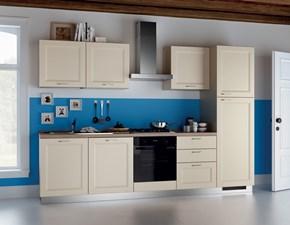 Cucina bianca provenzale lineare Easy colony Scavolini