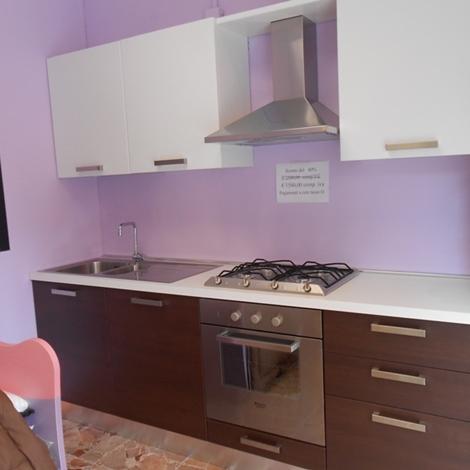 Cucina Bindi cucine Gaia Moderna Laminato Materico rovere moro ...