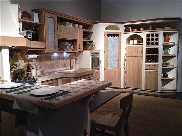 Cucina borgoantico mod rebecca cucine a prezzi scontati - Lavandini ad angolo per cucina ...