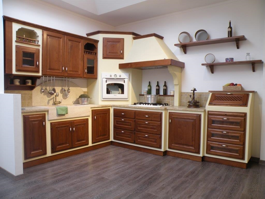 Cucina paganelli modello lavanda scontato del 62 - Cucina di muratura ...