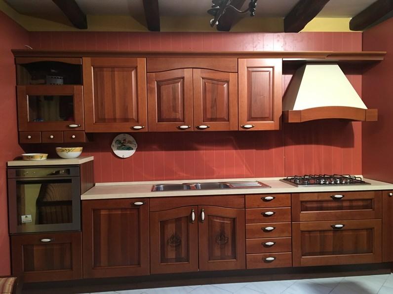 Cucina Casale noce classica noce lineare Arrital cucine in legno