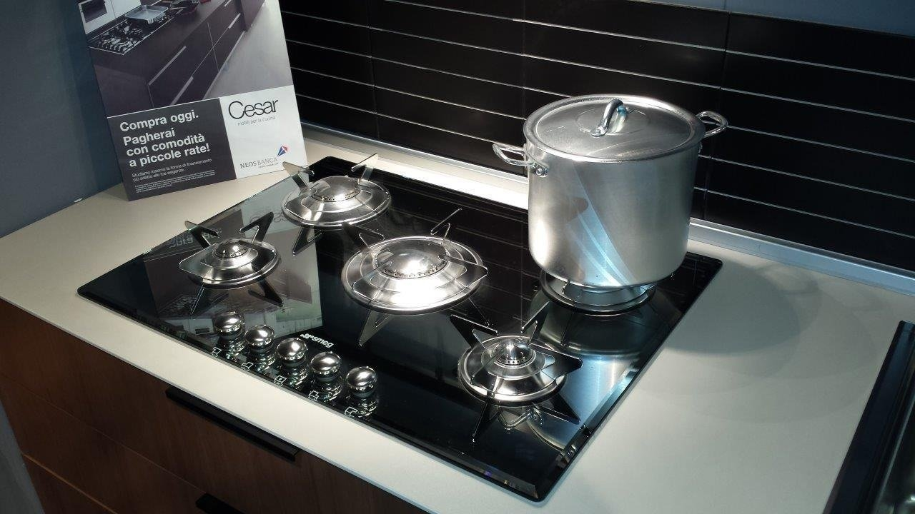 Cucina cesar legno in offerta cucine a prezzi scontati for Piano cottura 5 fuochi vetro