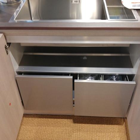Cucina ad isola cesar in laminato materico cucine a prezzi scontati - Piano cucina in dekton ...