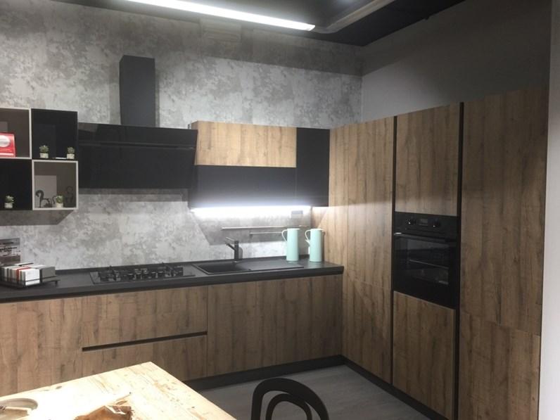 Cucina Cielo Moderna Altri Colori Ad Angolo Mobilturi Cucine