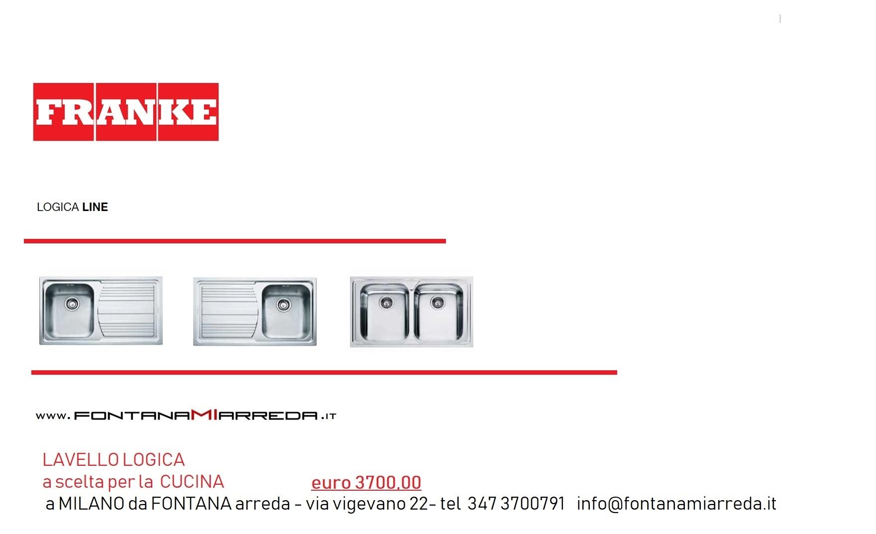 Cucina completa euro 3700 00 cucine a prezzi scontati for Fontana arreda