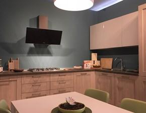 Cucina City-aliant moderna rovere chiaro ad angolo Stosa cucine