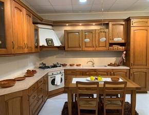 Cucina classica ad angolo Arrex Arrex angolo legno a prezzo ribassato