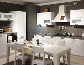 Cucina classica bianca Forma 2000 ad angolo Venezia  in offerta