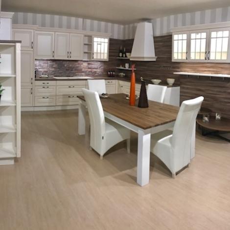 Cucina classica contemporanea completa di tavolo e sedie - Cucina classica contemporanea ...