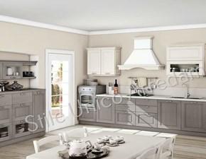 Cucina classica grigio Colombini casa lineare Sophia in Offerta Outlet