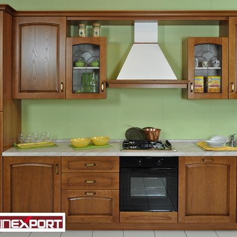 Cucina classica in legno lube export modello numana for Cucine bloccate offerte