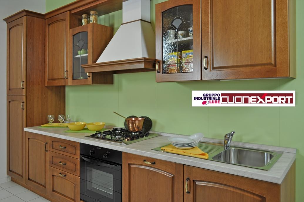 Cucina classica in legno lube export modello numana - Cucina lube classica ...