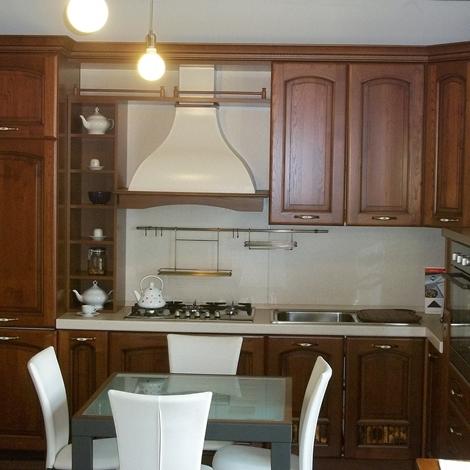 Cucina classica legno massello scontata 50% Europlak Natura ...