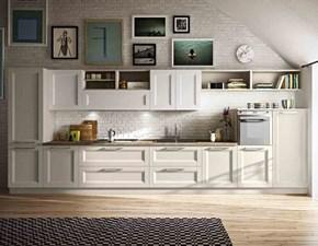 Cucina classica lineare Artigianale Tramonto a prezzo ribassato