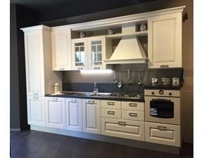 Cucina classica lineare Lube cucine Art.65 cucina laura  a prezzo ribassato