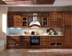 Cucina classica lineare Mobilturi cucine Atena a prezzo scontato