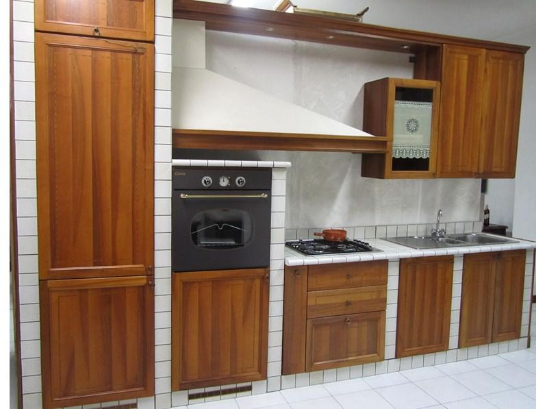 Cucina classica lineare Zecchinon Classica a prezzo ribassato
