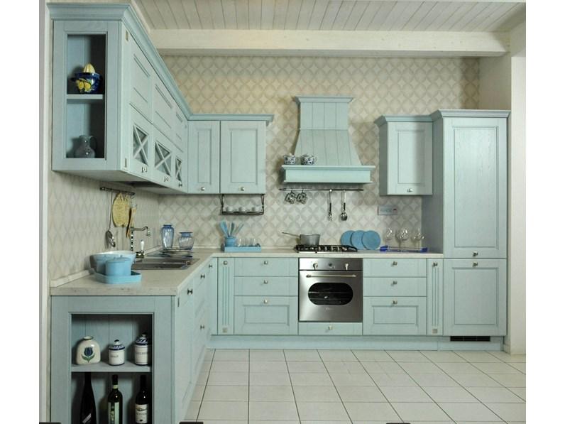 Cucina classica Lube modello Agnese in offerta a prezzo di saldo