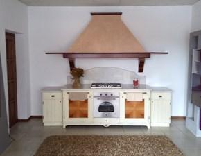 Cucina classica magnolia Artigianale lineare Artigianale scontata