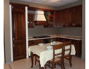 Cucina classica noce Astra cucine ad angolo La noce in Offerta Outlet