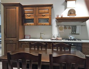 Cucina classica noce Lube cucine lineare Laura scontata