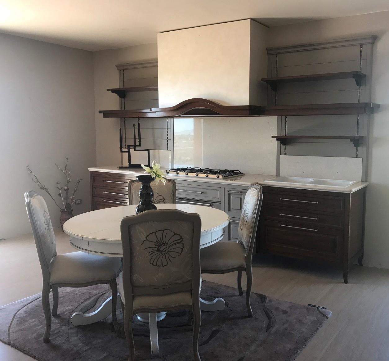Cucina classica renier mobili baron legno massello noce - Cucine baron prezzi ...