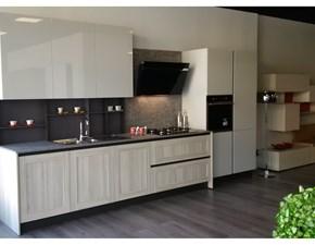 Cucina Cloe moderna grigio lineare Arredo3
