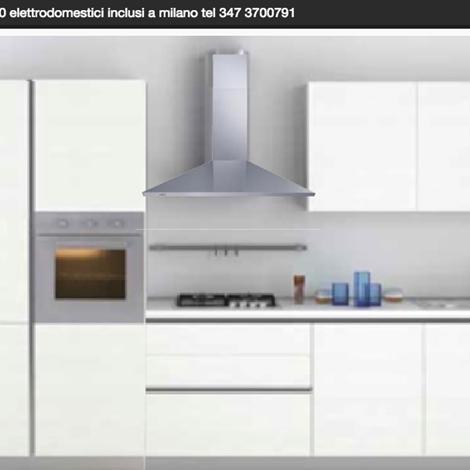 Cucina gicinque mod joy prezzo outlet 3700 00 euro for Outlet cucine milano