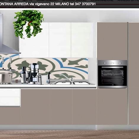 Cucina gicinque mod joy prezzo outlet 3700 00 euro for Fontana arreda