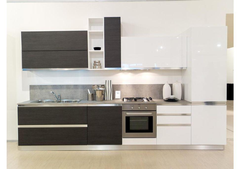 Cucina cm 360 in offerta cucine a prezzi scontati - Cucine bicolore moderne ...