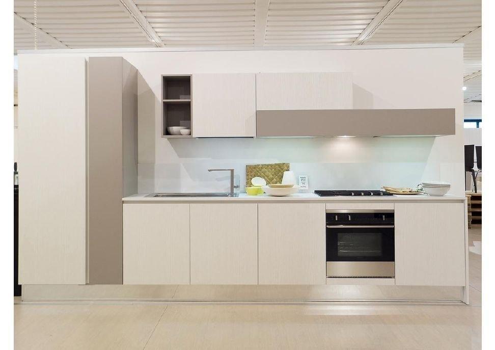 Cucina astra cucine iride moderna laccato lucido cucine - Lunghezza cucina ...