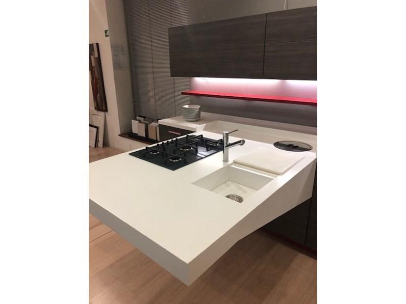 Cucina code board design larice lineare snaidero - Cucina code snaidero ...