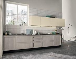 Cucina Colombini casa Cucina lineare ptatica e di stile OFFERTA OUTLET