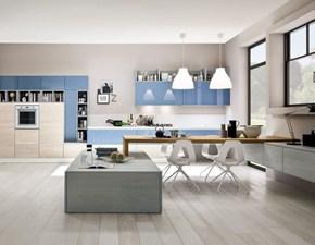 CUCINA Colombini casa lineare Cucina in legno di rovere con nodi e venature in evidenza SCONTATA