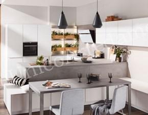 Cucina Colombini casa moderna ad angolo grigio in legno Perry