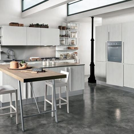 cucina come foto in offerta con isola outlet nuovimondi