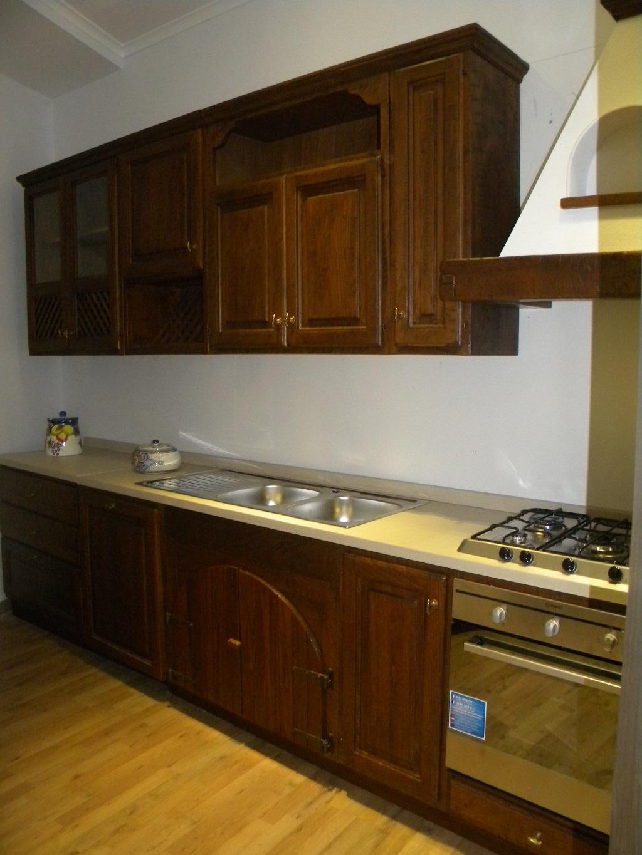 cucina completa in legno massello completa di