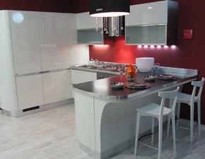 cucina modello tess Scavolini laccata bianco lucido