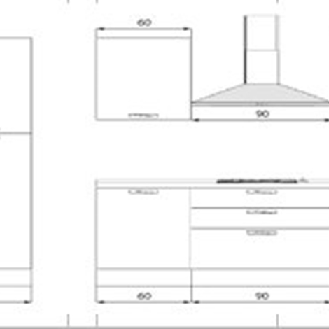 Cucina Componibile Misure. Base Mobile Cucina Mobili Base Per Cucina ...