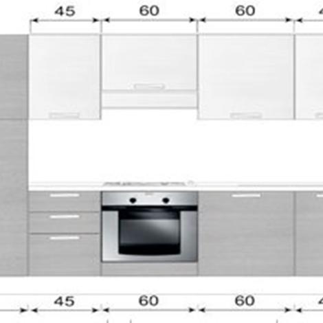Awesome cucine componibili misure gallery design ideas - Misure standard cucina componibile ...