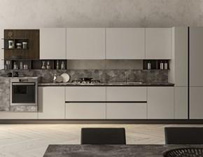 Cucina Componibile moderna bianca lineare Colombini