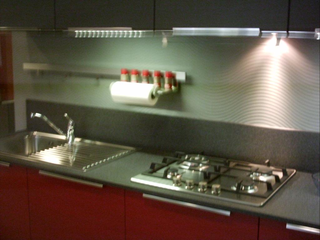 Cucina Con Basi Sospese Cucine A Prezzi Scontati #59271E 1024 768 Piano Di Cucina In Laminato